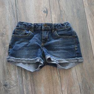 Lucky Brand Riley Jean Shorts Girls Size 10